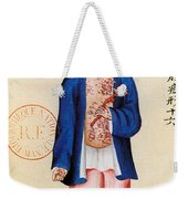 China Smallpox Weekender Tote Bag