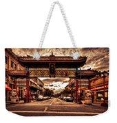 China Town Victoria Weekender Tote Bag