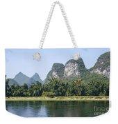 China Yangshuo County Li River  Weekender Tote Bag