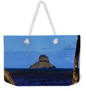 Chinaman's Hat Island-kane'ohe Bay Oahu Hawaii Weekender Tote Bag