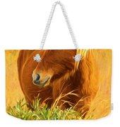 Chincoteague Pony Profile Weekender Tote Bag