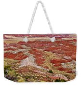Chinde Point In Painted Desert In Petrified Forest National Park-arizona Weekender Tote Bag