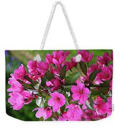 Chinese Apple Blossoms Weekender Tote Bag