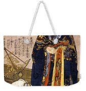 Chinese Astronomer, 1675 Weekender Tote Bag