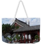 Chinese Bonsai Garden Weekender Tote Bag