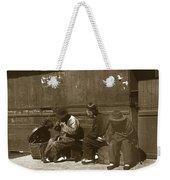 Chinese Cobbler San Francisco California Chinatown Circa 1900 Weekender Tote Bag