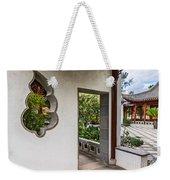 Chinese Courtyard Weekender Tote Bag