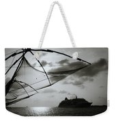 Approaching Cochin Weekender Tote Bag