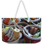 Chinese Food Miniatures 3 Weekender Tote Bag