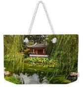 Chinese Garden Breeze Weekender Tote Bag
