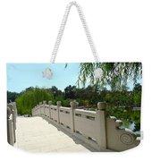 Chinese Garden Bridge Weekender Tote Bag