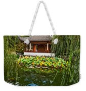 Chinese Garden Dream Weekender Tote Bag