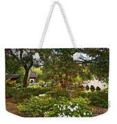Chinese Garden View Weekender Tote Bag