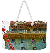 Chinese Lanterns In Chinatown In San Francisco-california  Weekender Tote Bag