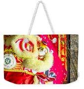 Chinese Lion Head Weekender Tote Bag