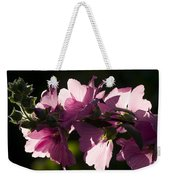 Chinese Mallow Weekender Tote Bag