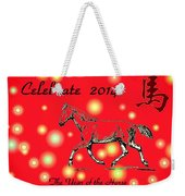 Chinese New Year 2014 Weekender Tote Bag