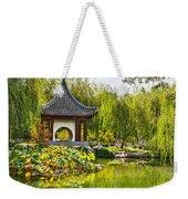 Chinese Pagoda Weekender Tote Bag
