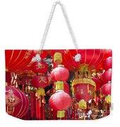 Chinese Red Lanterns Weekender Tote Bag