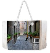 Chinese Restaurant Chef Has Quiet Moment Shanghai China Weekender Tote Bag