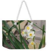 Chinese Sacred Lily Weekender Tote Bag