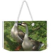 Chinese Swan Goose Pair 2 Weekender Tote Bag