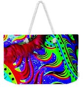 Chinese Tapestry Abstract Weekender Tote Bag