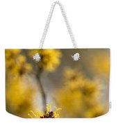 Chinese Witch Hazel Weekender Tote Bag