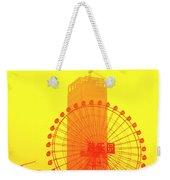 Chinese Wonder Wheel Weekender Tote Bag
