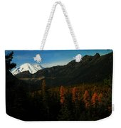 Chinnock Pass From Masatchee Falls Weekender Tote Bag