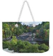 Chippewa River Ontario Canada Weekender Tote Bag