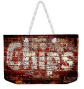 Chips Brick Wall Weekender Tote Bag