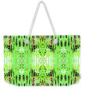 Chive Abstract Green Weekender Tote Bag