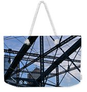Choas In The City Weekender Tote Bag