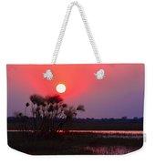 Chobe River Sunset Weekender Tote Bag