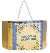 Chocolat En Poudre Weekender Tote Bag