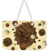 Chocolate Asteroids Weekender Tote Bag