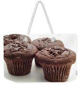Chocolate Chocolate Chip Muffins - Bakery - Breakfast Weekender Tote Bag
