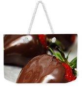 Chocolate Covered Strawberries Weekender Tote Bag