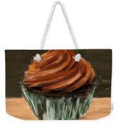 Chocolate Cupcake Weekender Tote Bag