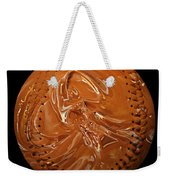 Chocolate Dipped Baseball Square Weekender Tote Bag