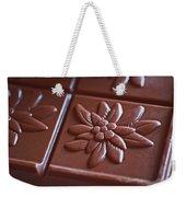 Chocolate Flower  Weekender Tote Bag