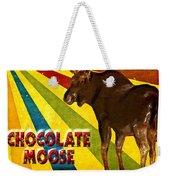 Chocolate Moose Weekender Tote Bag