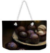 Chocolate Pralines Weekender Tote Bag