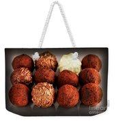 Chocolate Truffles Weekender Tote Bag by Elena Elisseeva