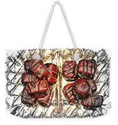 Chocolates - Illustration - Dish - Candy Weekender Tote Bag