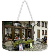 Chocolatier In Gruyeres Weekender Tote Bag