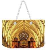 Choir Loft At Saint Josephs Cathedral Buffalo New York Weekender Tote Bag