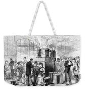 Cholera: 1884 Epidemic Weekender Tote Bag