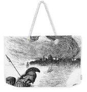 Cholera Cartoon, 1883 Weekender Tote Bag